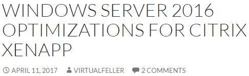 Virtual Delivery Agent (VDA) 7 15 4000 LTSR – Carl Stalhood