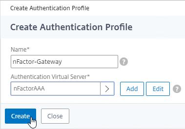 Nfactor Authentication Netscaler Gateway 12 Citrix