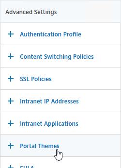 Gateway Tweaks – NetScaler Gateway 12 / Citrix Gateway 12 1
