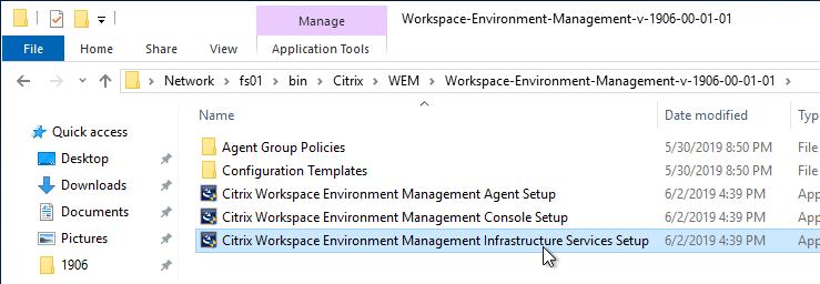 Workspace Environment Management (WEM) 1906 – Carl Stalhood
