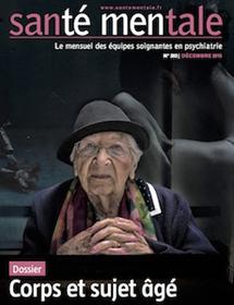 Santé Mentale – Corps et sujet âgé