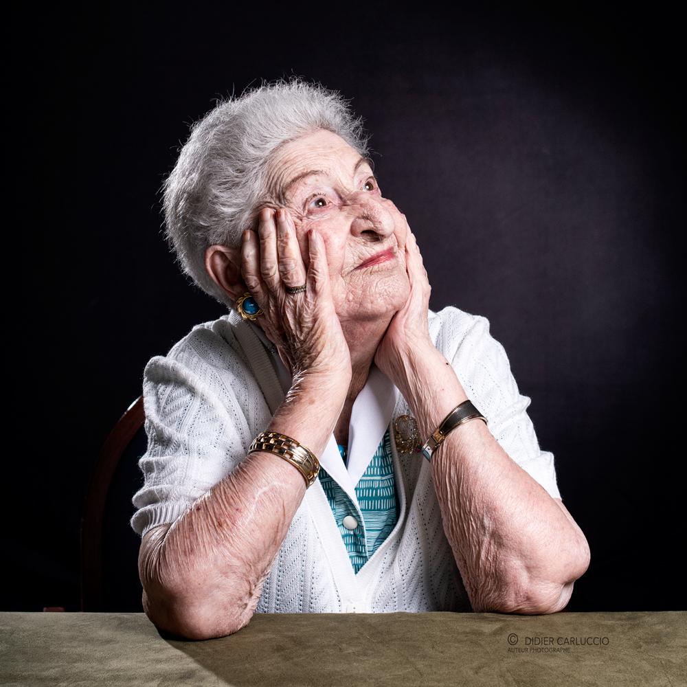 Andrée 95 ans Pathologie Alzheimer