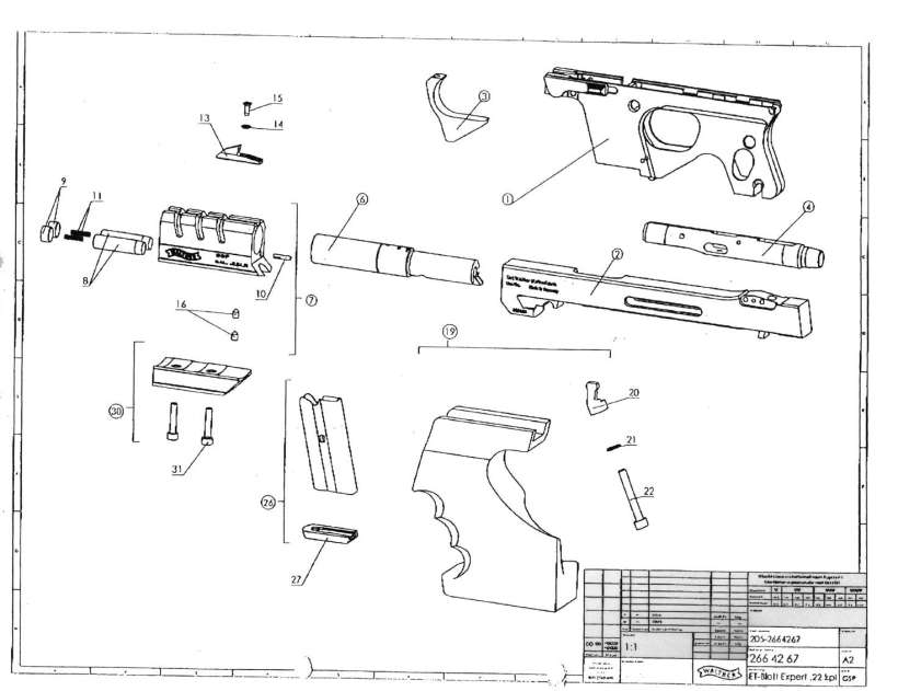 Walther Spare Parts Kayamotorco