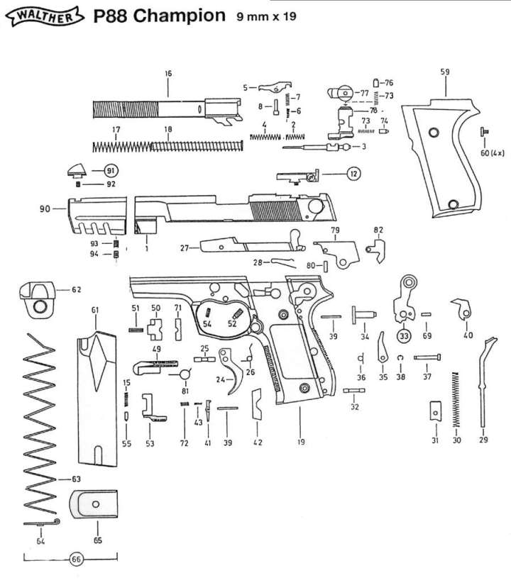 walther spare parts | Newmotorjdi co