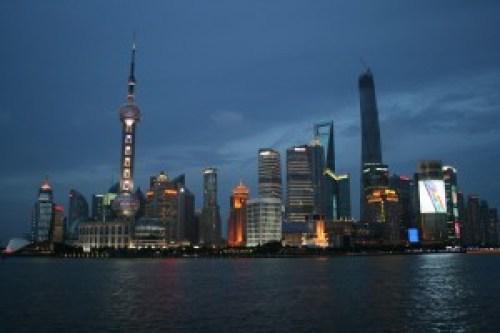 Pudong At Night, Shanghai
