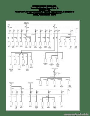 BMW 740il 1995 E38 System Wiring Diagrams