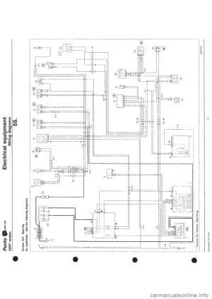 FIAT PUNTO 1997 176  1G Wiring Diagrams Workshop Manual