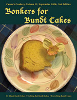 Bonkers for Bundt Cakes