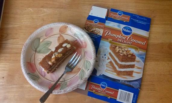 Pillsbury Pumpkin Caramel Delight mix