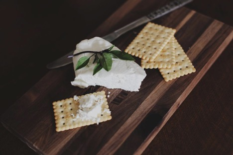 crackers and cheese