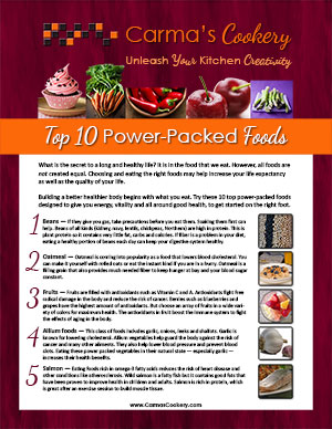 Power Packed Foods report