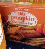 Trader Joe's This Pumpkin Walks Into a Bar ... Cereal Bars