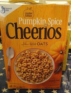 Limited Edition Pumpkin Spice Cheerios