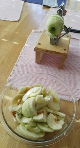 Pampered Chef apple peeler and corer