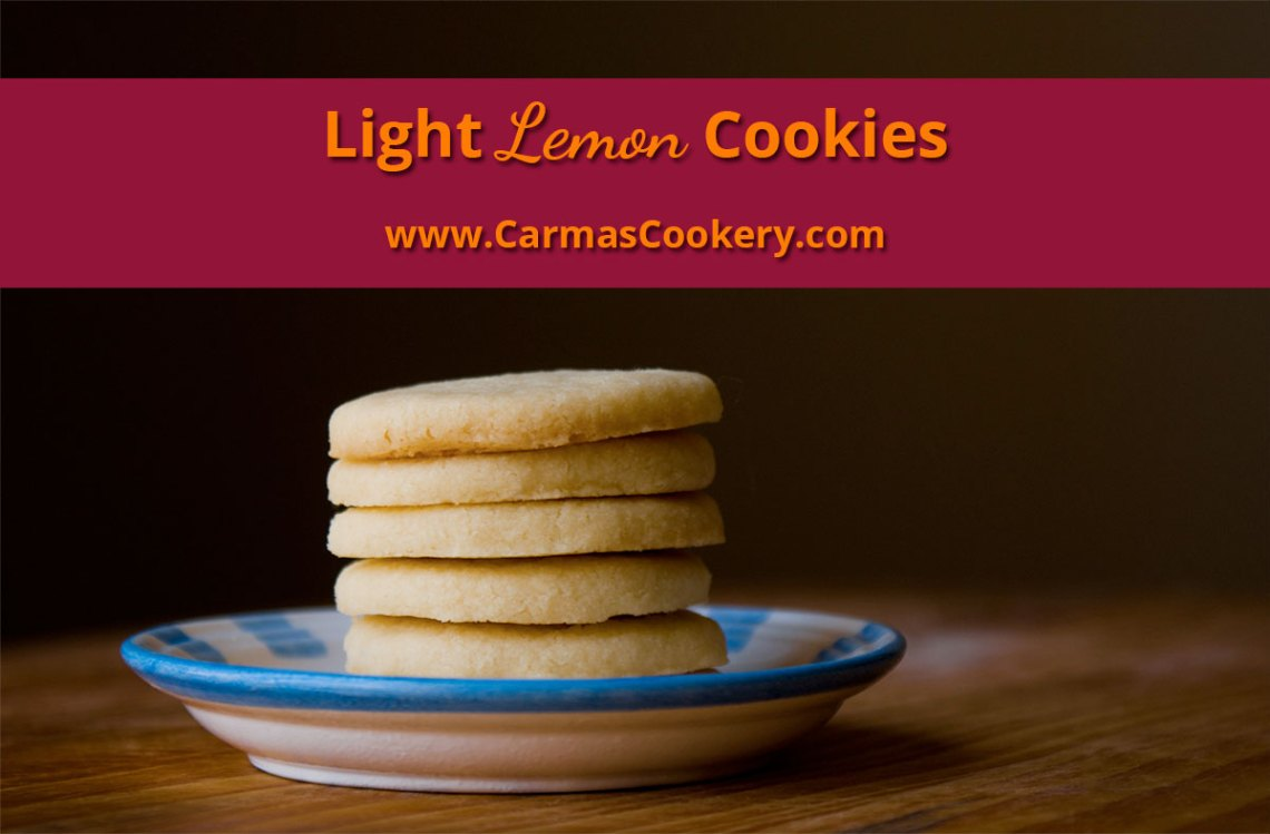 Light Lemon Cookies