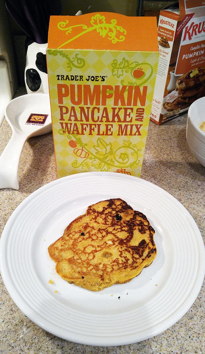 Trader Joes pumpkin pancake