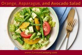 Orange, Asparagus, and Avocado Salad
