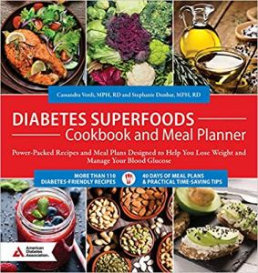 Diabetes Superfoods Cookbook and Meal Planner cover image