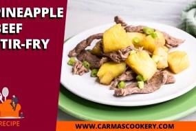 Pineapple Beef Stir-Fry