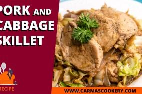 Pork and Cabbage Skillet