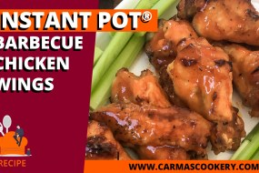 Instant Pot® Barbecue Chicken Wings