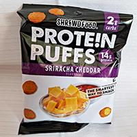 Shrewd Food Sriracha Cheddar Protein Puffs