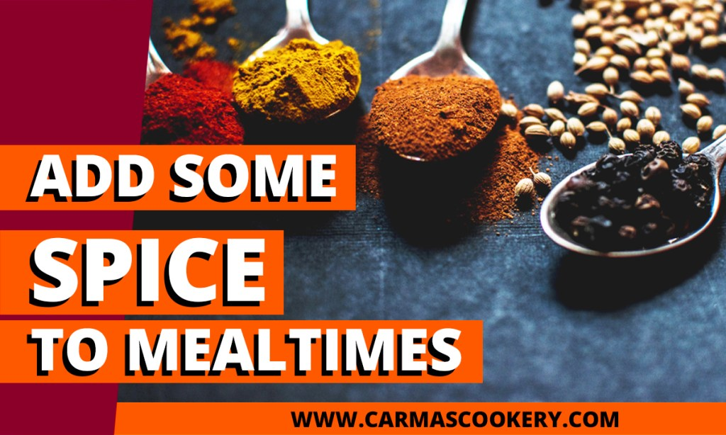 Add Some Spice to Mealtimes