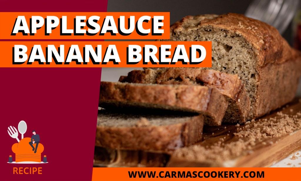 Applesauce Banana Bread