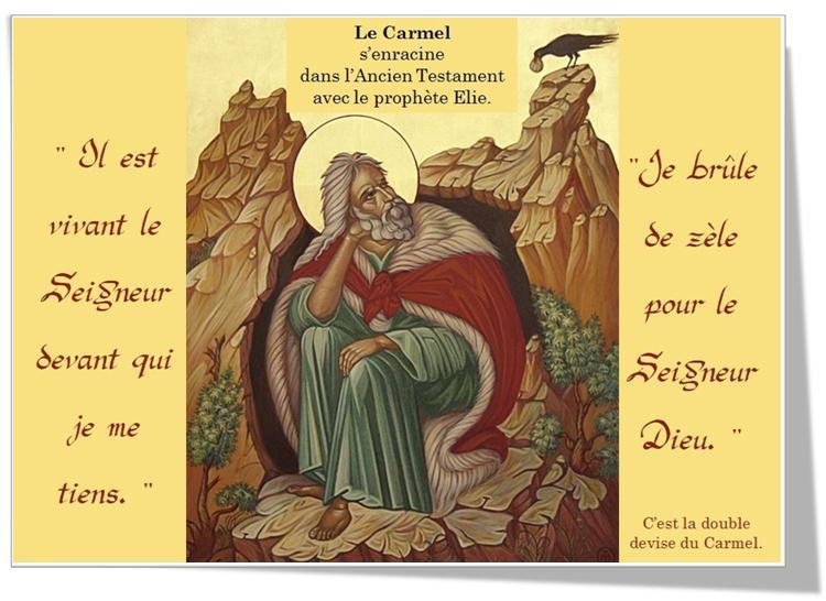 Les Origines du Carmel
