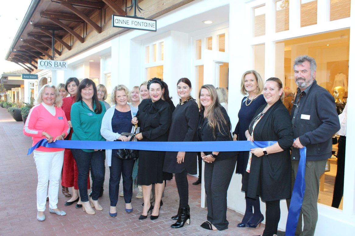 Anne Fontaine Ribbon Cutting
