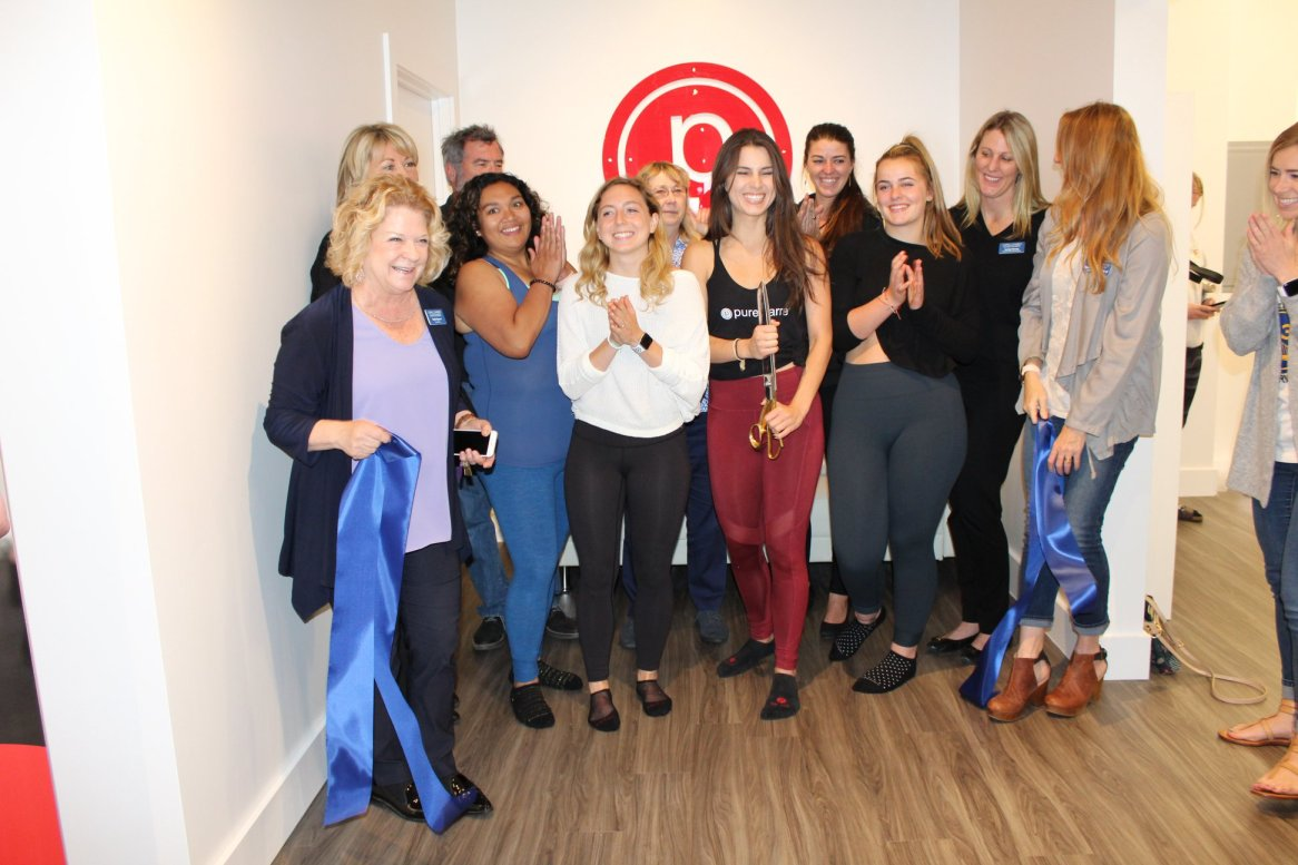 Pure Barre Ribbon Cutting