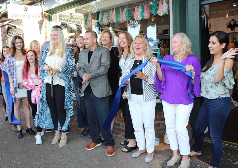 Xandra Swimwear Ribbon Cutting