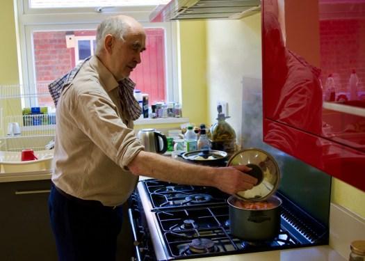 Fr Bob Cooking