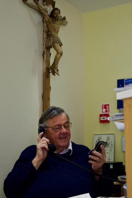 Fr John Talking