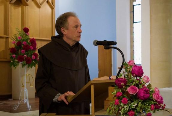 Fr Matt Giving Talk