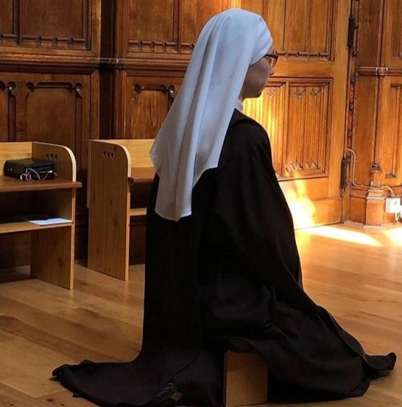 Nun-at-Prayer