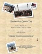 Beach Trip Flyer