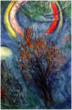 © Chagall, Buisson ardent