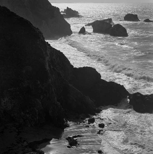 Ocean Sunglint Big Sur, ©Alan Ross
