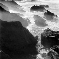 Rocks and Mist ©Alan Ross