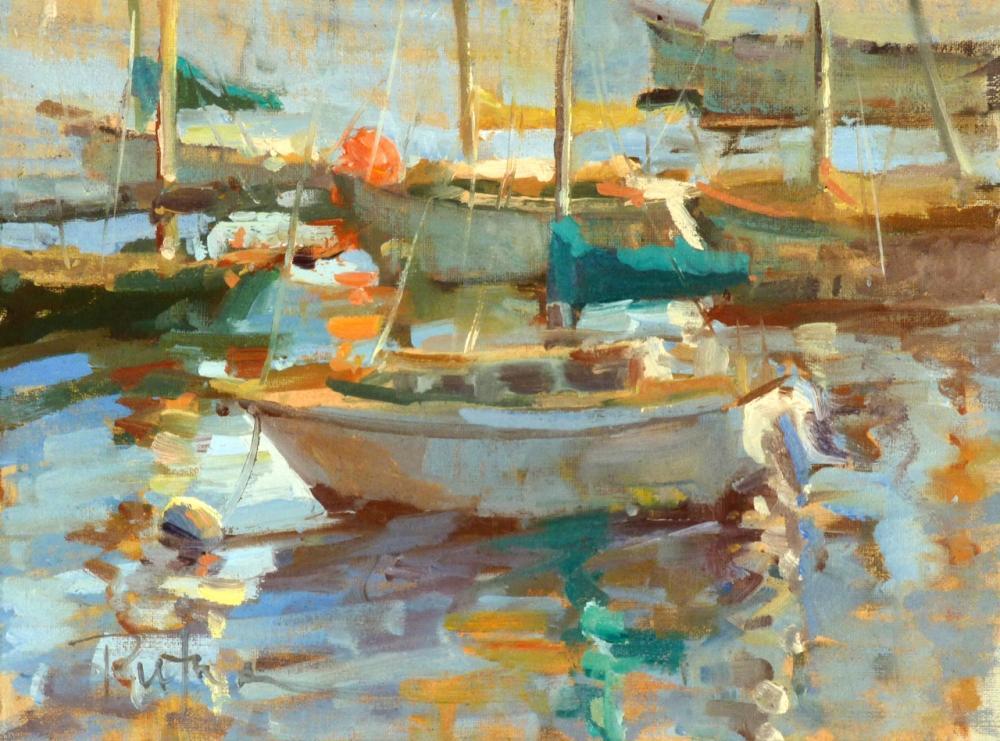 Lori Putnam Painting Demo Carmel Visual Arts Art
