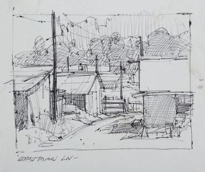 Eastman Lane, Sketch
