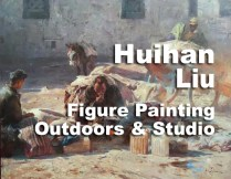 Huihan Liu's August 2017 workshop will feature painting the figure in an indoor setting and weather permitting, outdoors. More info and registration at http://www.carmelvisualarts.com/huihan-liu/