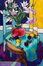 Angus_Wilson_Watermelon_&_Stargazer_lilies_arrangement
