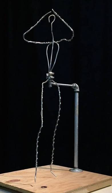 It all begins with the wire armature