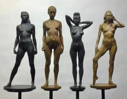 Samples of Brian's final bronzes