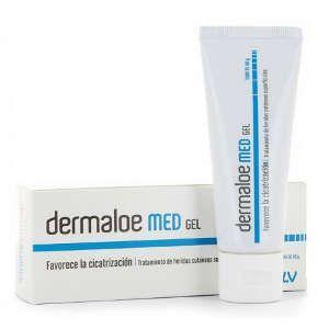 Lesiones de la piel por coronavirus (Covid-19) Dermaloe Med Gel