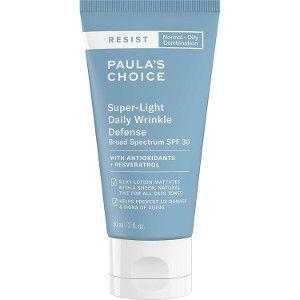 Paula's Choice Resist Crema Hidratante de Dia FPS 30 – Crema Antiarrugas y Matifica la Piel Brillante – con Óxido de Zinc – Pieles Mixtas a Grasas – 60 ml