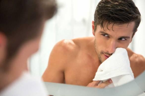 Rutina cuidado facial para hombres