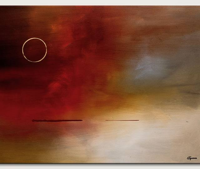 Original Abstract Art By Carmen Guedez Eclipse